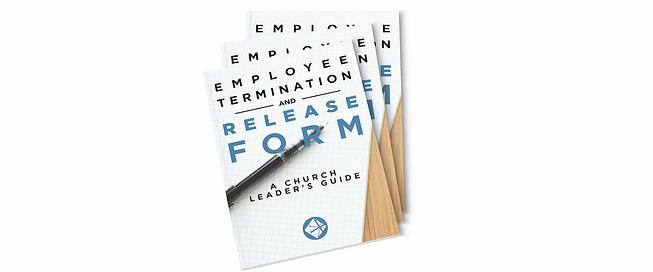Employee Termination And Release Form For Churches Download – Free Employee Termination Form