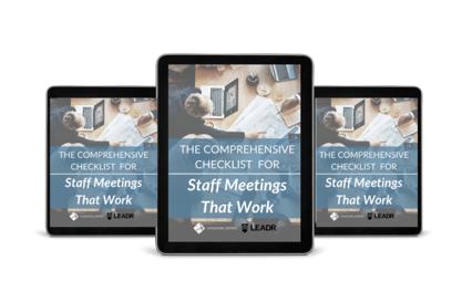 Staff Meetings That Work Ebook